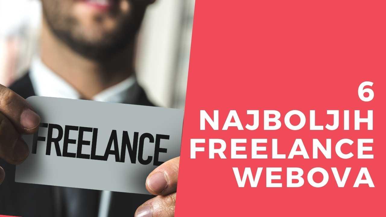 Freelancing web stranica
