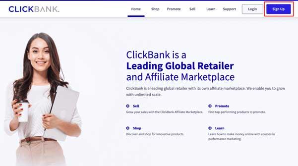 Kako zaraditi novac pomoću ClickBank
